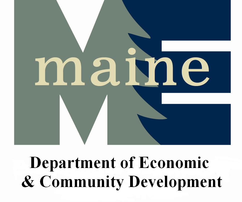 Maine Department of Economic and Community Development Logo